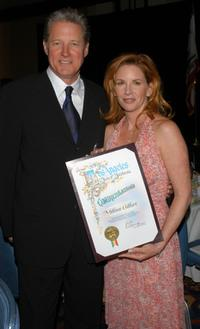 Bruce Boxleitner and Melissa Gilbert at the 84th Annual Hollywood Chamber Installation Luncheon.