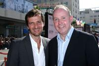 Producer David Heyman and David Yates at the U.S. premiere of