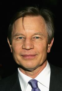 Michael York at the Hallmark Channel's TCA Press Tour party.