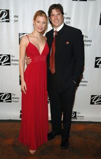 Rachel York and Guest at the 21st annual spring benefit concert presented by the Drama League.