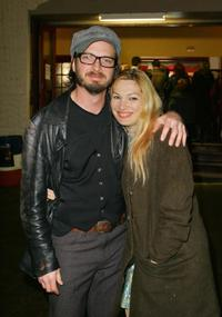 Aden Young and Loene Carmon at the premiere of