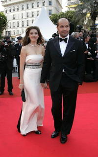 Billy Zane and Kelly Brook at the opening ceremony of the 60th edition of the Cannes Film Festival.