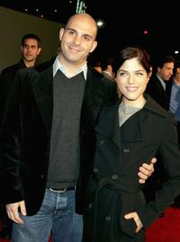 Ahmet Zappa and Selma Blair at the world premiere of