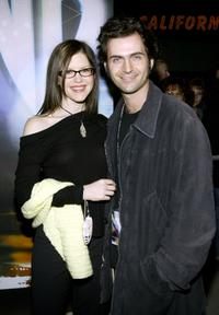 Dweezil Zappa and guest at the WB Network's 2003 Winter Party.