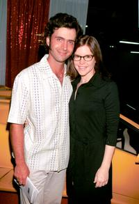 Dweezil Zappa and Lisa Loeb at the 4th Annual Cars and Stars Gala to celebrate 50 years of Rock and Roll.