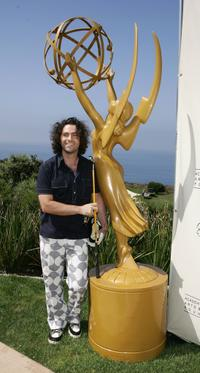 Dweezil Zappa at the Academy of Television Arts and Sciences Foundation 7th Annual Celebrity Golf Classic.