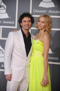 Dweezil Zappa and Guest at the 51st Annual Grammy awards.
