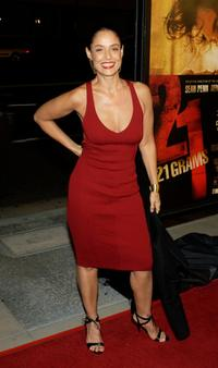 Sonia Braga at the Los Angeles premiere of