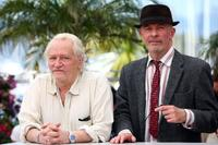 Niels Arestrup and Jacques Audiard at the photocall of