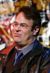 Dan Aykroyd at the Hard Rock Cafe to celebrate the 50th Anniversary of Rock and Roll.