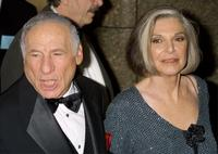 Anne Bancroft and Mel Brooks at the 55th Annual Antoinette Perry Tony Awards.