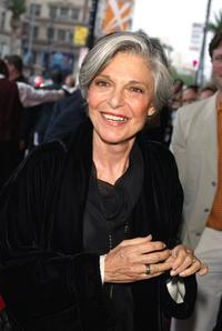 Anne Bancroft at the opening night of Mel Brooks