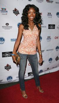 Brandy at the Midsummer Night's Glam Jam at House of Blues Sunset.
