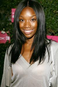 Brandy at the launch of the T-Mobile Sidekick 3.