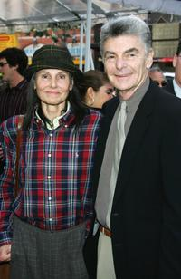 Richard Benjamin and wife Paula Prentiss at the hand and footprint ceremony honoring Sherry Lansing.