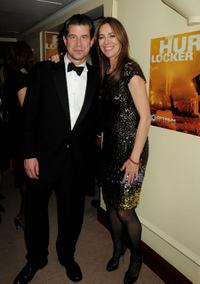 Kathryn Bigelow and Guest at the after party of BAFTA Soho House Grey Goose.