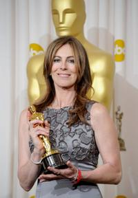 Kathryn Bigelow at the 82nd Annual Academy Awards.