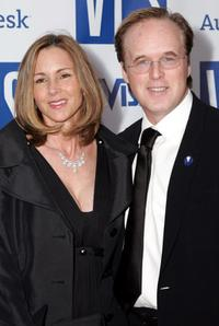 Brad Bird and his wife Elizabeth Canney at the Visual Effects Awards honoring Steven Spielberg.