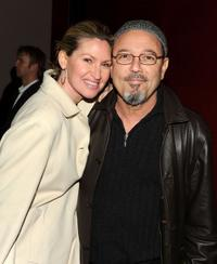Luba Mason and Ruben Blades at the after party of the premiere of
