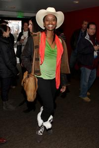 Erika Alexander at the People Speak ASCAP Music Cafe performance during the 2009 Sundance Music Festival.