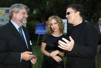 Albert Brooks, Kimberly Brooks and Bob Lynch at Bel Air for the 7th Annual Express Yourself chairty event.