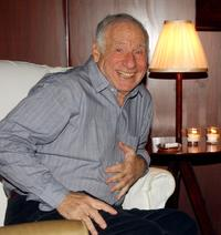 Mel Brooks at the Steven Webers party for his last performance of