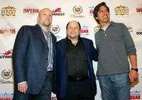Jason Alexander, Kevin Burke and Ray Romano at the CineVegas film festival, for the screening of