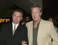Bryan Brown and Sam Neil at the Hollywood Nights Charity Dinner in aid of the Prince of Wales Hospital Foundation.