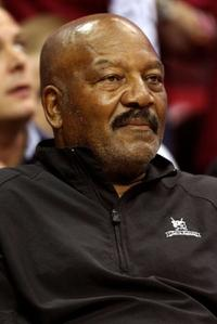 Jim Brown at the Eastern Conference Finals between Cleveland Cavaliers and Orlando Magic during the 2009 Playoffs.