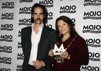 Nick Cave and Rosanne Cash at the MOJO Honours List Awards.