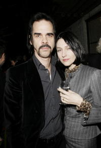 Nick Cave and Susie Bick at the opening gala screening of