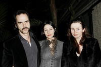 Nick Cave, Susie Bick and Emily Watson at the opening gala screening of