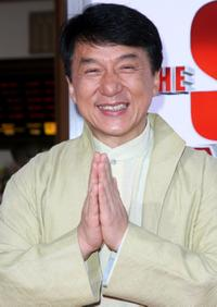Jackie Chan at the California premiere of