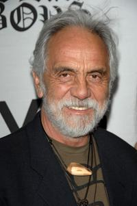 Tommy Chong at the premiere of