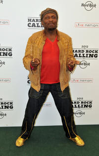 Jimmy Cliff at the Hard Rock Calling 2012.