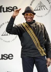Jimmy Cliff at the 25th Annual Rock And Roll Hall of Fame Induction Ceremony.
