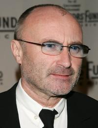 Phil Collins at the Actors Fund of America annual gala.