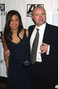 Phil Collins and his wife Orianne at the City of Hope Gala.