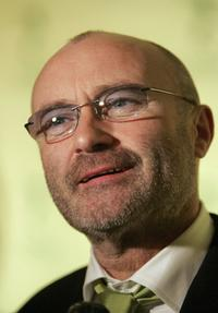Phil Collins at the opening night of