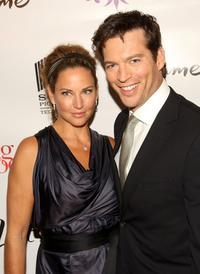 Jill Goodacre and Harry Connick, Jr. at the premiere of