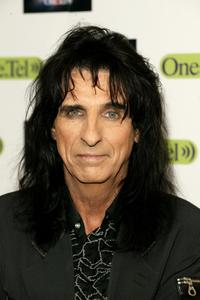 Alice Cooper at the British Comedy Awards 2003.