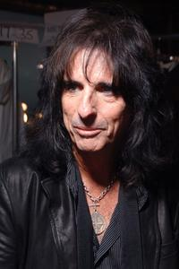 Alice Cooper at the Varvatos 2008 Fashion Show.