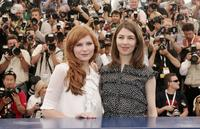 Sofia Coppola and Kirsten Dunst at the Palais des Festivals during the 59th International Cannes Film Festival, attend a photocall for