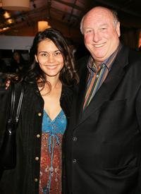 Arloa Reston and Phil Brock at the Mercedes-Benz Fashion Week.