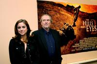 Wes Craven and Jessica Stroup to promote their new movie