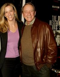 Maria and Richard Crenna at the premiere of