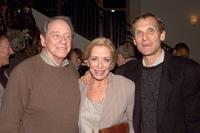 Richard Crenna, Holland Taylor and Jerry Offsay at the premiere of