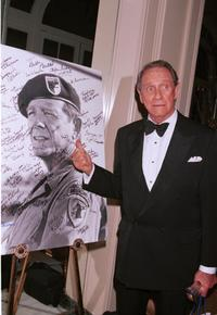 Richard Crenna at the 6th Annual American Veteran Awards.
