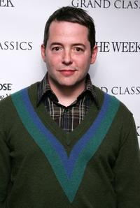 Matthew Broderick at the screening of
