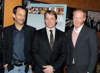 Joshua Goldin, Matthew Broderick and Jesse Tyler Ferguson at the California premiere of